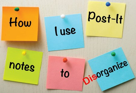 disorganize